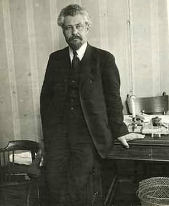 Виктор Михайлович Чернов  один из основателей партии эсеров, ее теоретик