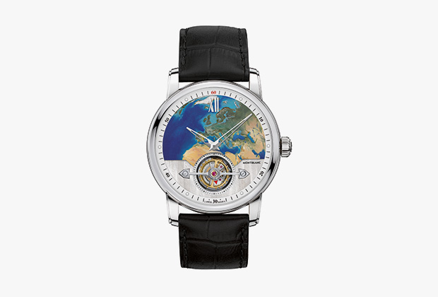 Часы Montblanc 4810 ExoTourbillon Slim 110 Years Edition Europe