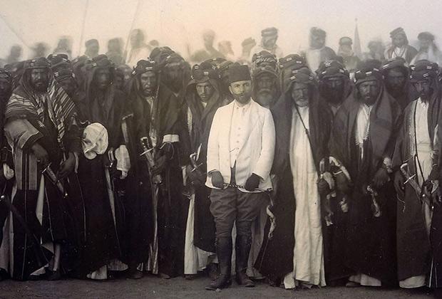 Джемаль-паша и предводители иракских племен