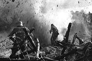 Пленные немецкие солдаты, 1917 год