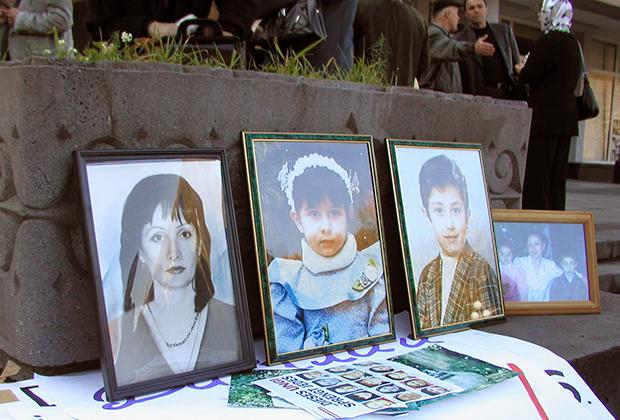 Митинг в поддержку Виталия Калоева, обвиняемого в умышленном убийстве авиадиспетчера