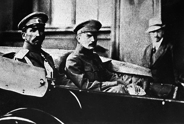Генерал Лавр Корнилов и Борис Савинков