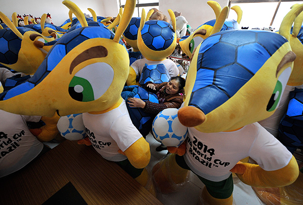 Талисманы чемпионата мира 2014 в Бразилии
