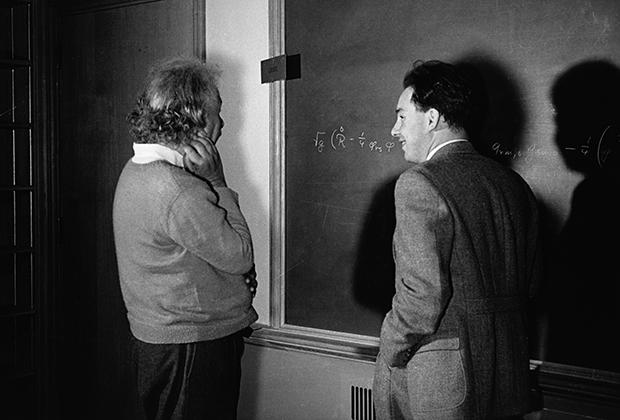 Альберт Эйнштейн в Принстоне