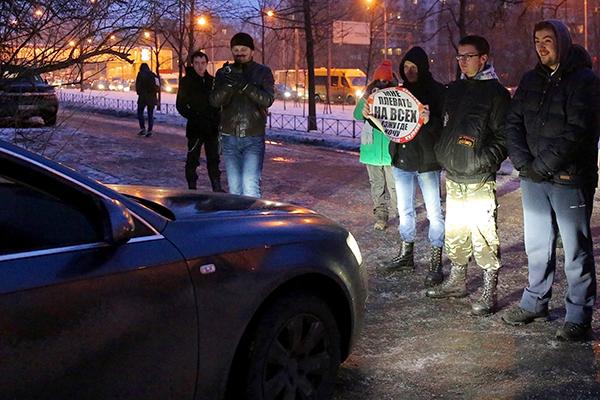 Рейд общественного движения «СтопХам» в Москве