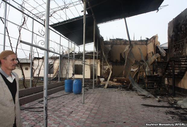 Результаты погромов в селе Ынтымак