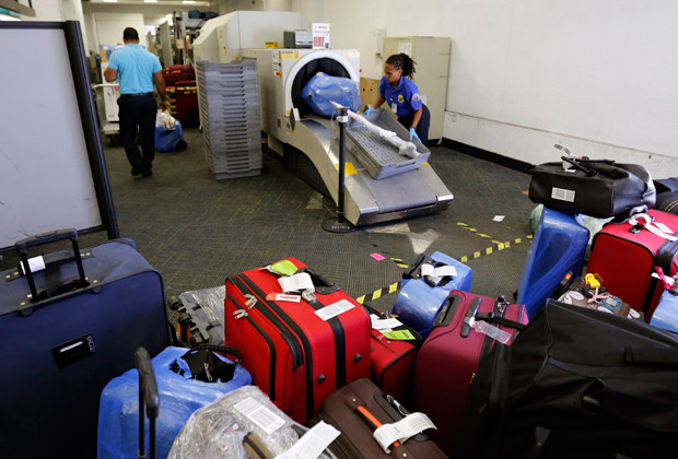 Возможно, запрет коснется и багажа рядовых пассажиров