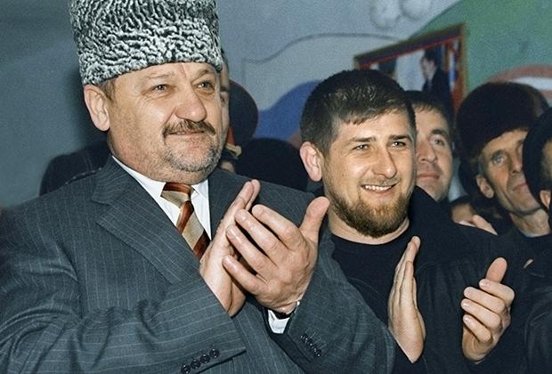 Ахмат и Рамзан Кадыровы, 2004 год