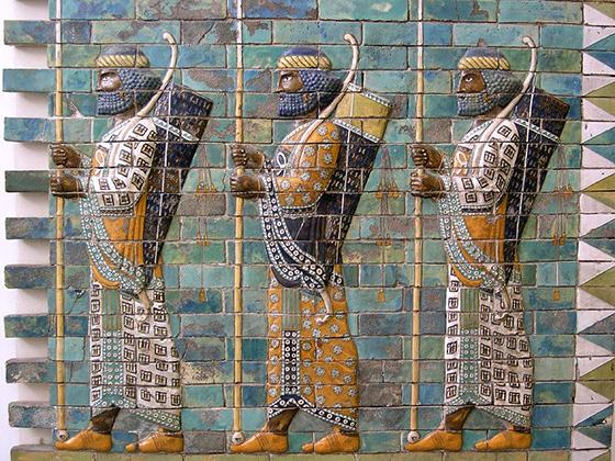 Персидское войско