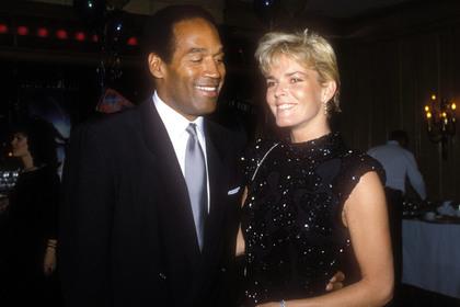 О. Джей Симпсон с Николь Браун в 1987 году