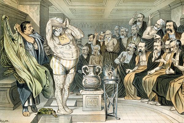 О реальности описанных Геродотом событий спорят до сих пор