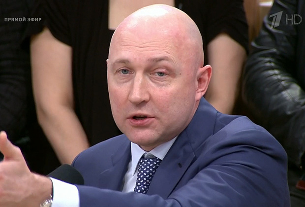 Михаил Старшинов на Первом канале