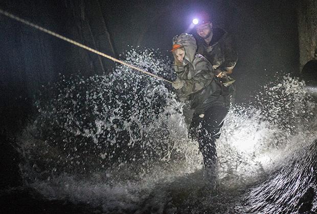 Экспедиция столичных диггеров в коллектор подземной реки Таракановки. 2016 год