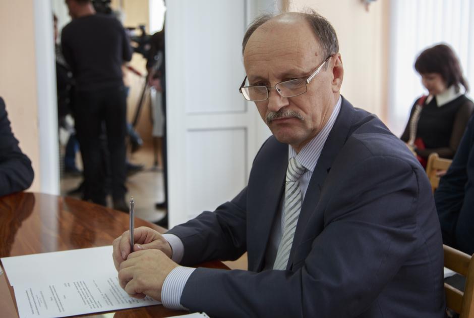 Директор Тамбовского порохового завода Александр Козлов