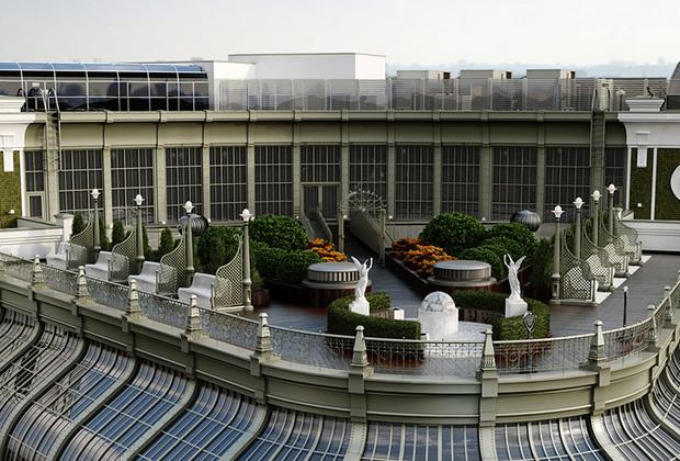 Крыша дома «Негоциантъ»