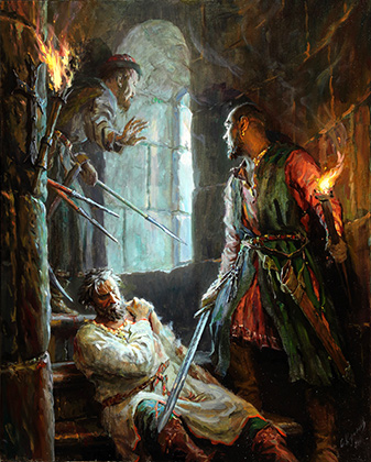 Историческая картина: Андрей Боголюбский (убиение)