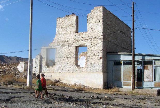 Таджикский Шуроб в советское время был процветающим шахтерским городом