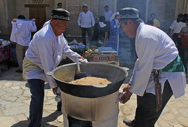 В Средней Азии отношение к плову почти священное