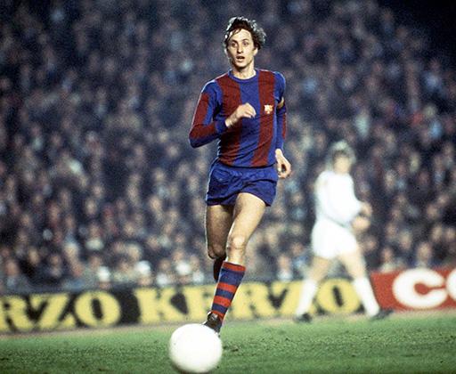 За «Барселону» голландец сыграл 143 матча, забив 48 мячей