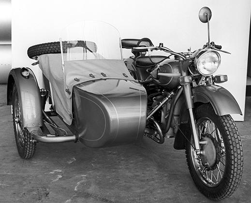 Мотоцикл «Урал-3 М66». Продукция Ирбитского мотоциклетного завода