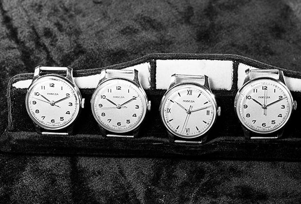 Мужские наручные часы марки «Победа». Москва, 1957