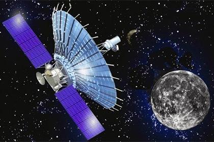 Художественное изображение космического радиотелескопа «Спектр-Р»