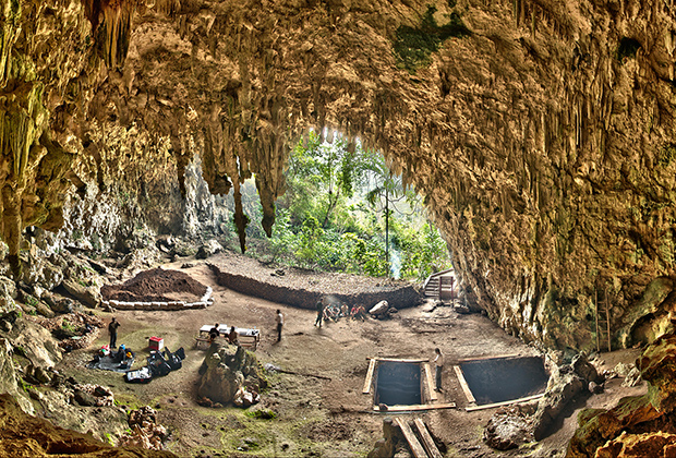 Пещера в Лианг Буа