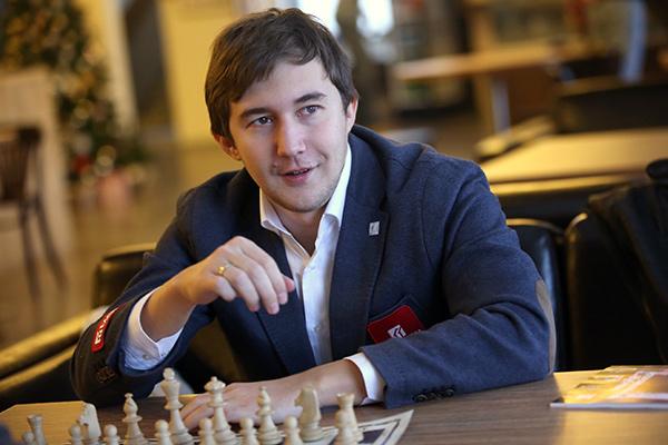 Победитель «Турнира претендентов-2016» на звание чемпиона мира по шахматам Сергей Карякин