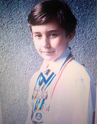 Сергей Карякин, 9 лет