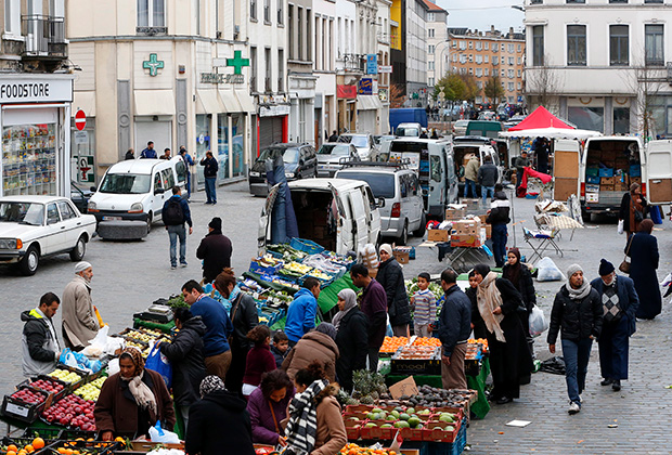 Рынок в Моленбеке, Брюссель