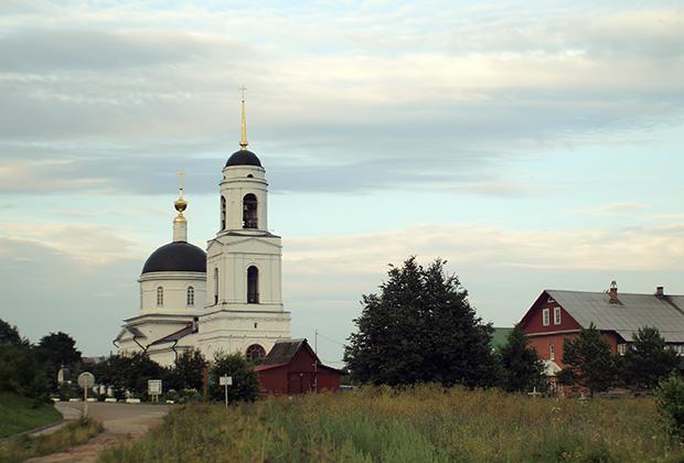 Преображенская церковь построена в 1836-1842 годах