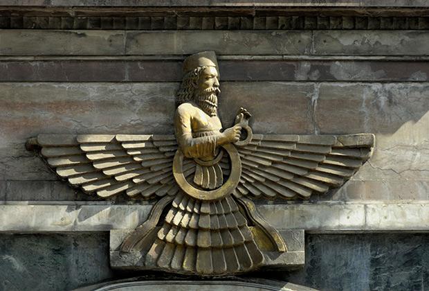 Зороастрийский символ Фаравахар
