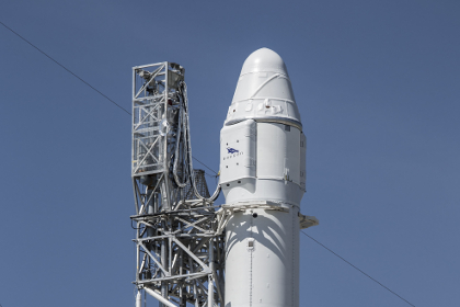 spacex посадка ступени #9