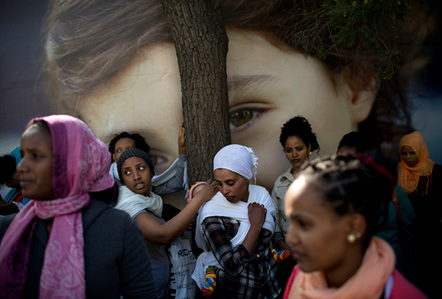 Мигранты из Эритреи
