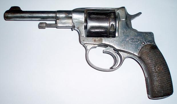 7,62-миллиметровый револьвер системы Нагана образца 1895 года (солдатский, дореволюционного производства)