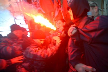 Активисты оппозиционного движения «Левый фронт» и Национал-большевистской партии