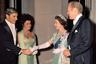 Встреча с Элизабет Тэйлор, 1976 год, Вашингтон. Королева Голливуда скончалась в 2011 году в возрасте 79 лет.