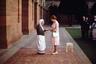 Встреча с матерью Терезой Калькуттской, 1983 год, Индия. Католическая монахиня и лауреат Нобелевской премии, причисленная к лику святых в 2003-м, скончалась в 1997 году в возрасте 87 лет.