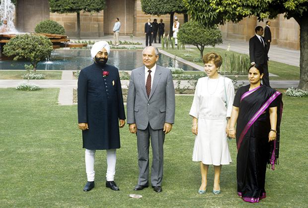 Официальный дружественный визит М.С. Горбачева в Республику Индию, 1986 год
