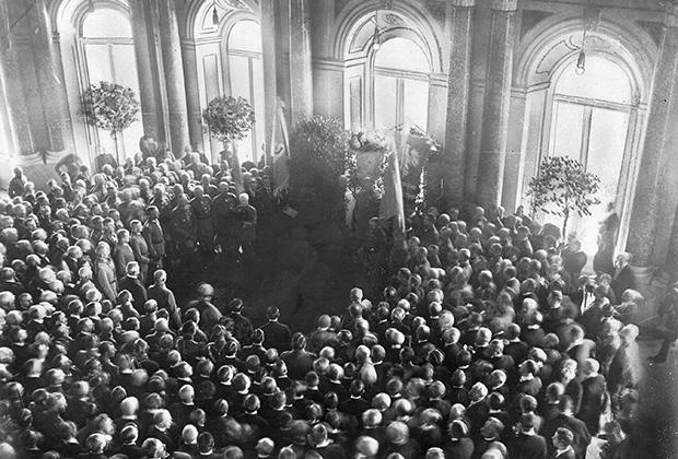 Провозглашение Королевства Польского, 1916 год