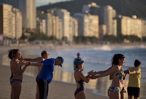 Пляж Копакабана в Рио