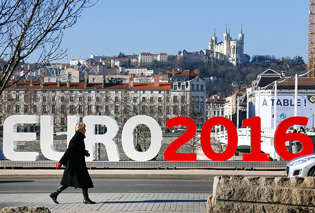 Древний Лион готовится к Евро-2016