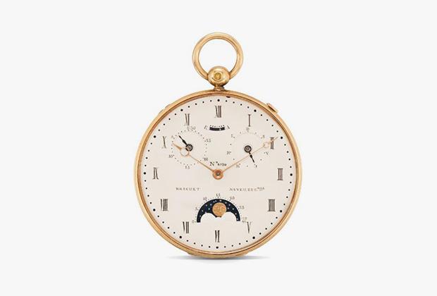 4730 — четвертьчасовой репетир в золотом корпусе с 22 платиновыми шурупами. Был куплен в 1829 году за 4000 франков княгиней Багратион; с 1836 года принадлежал Натаниэлю де Ротшильду.