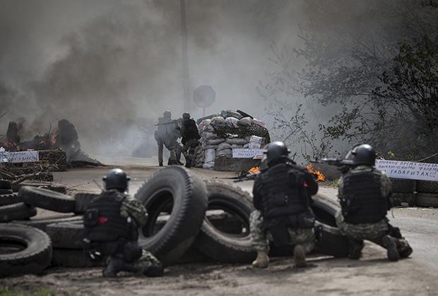 Именно в Славянске начались боевые действия, которые потом охватили весь Донбасс