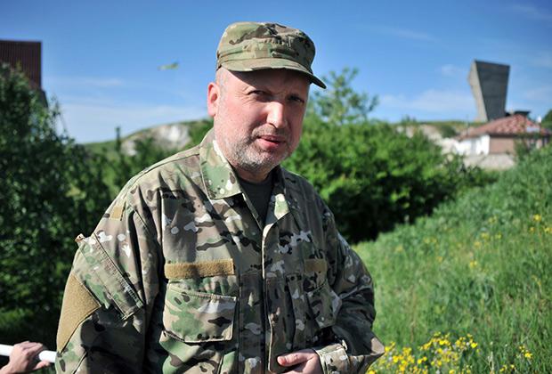 В апреле 2014 года Александр Турчинов исполнял обязанности президента Украины