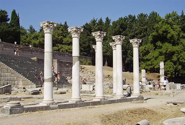 Храм Асклепия на Косе