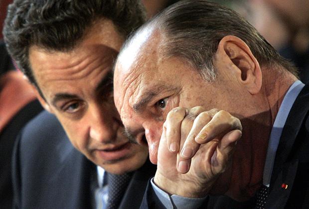 Николя Саркози в молодости оказывал знаки внимания дочери Жака Ширака — Клод