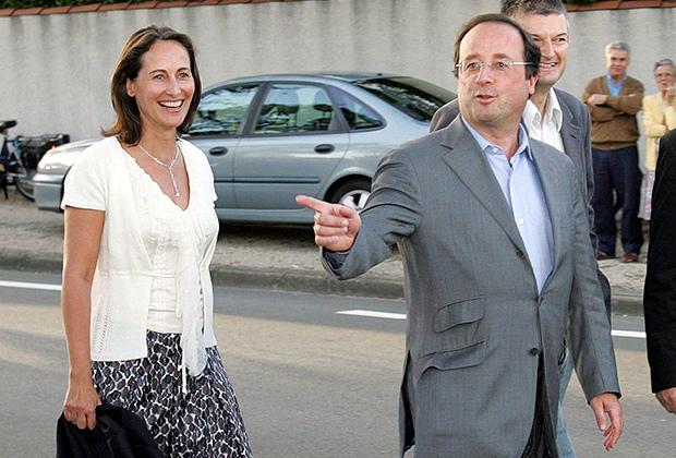 Формально президент Франции Франсуа Олланд женат не был никогда