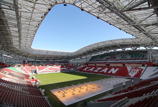 Стадион «Казань-Арена» возвели к Универсиаде 2013 года