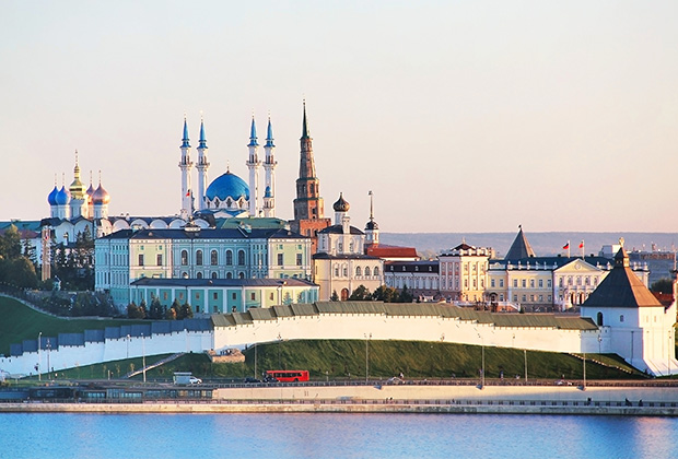 В 2005 году в казанский Кремль «вписали» мечеть Кул-Шариф